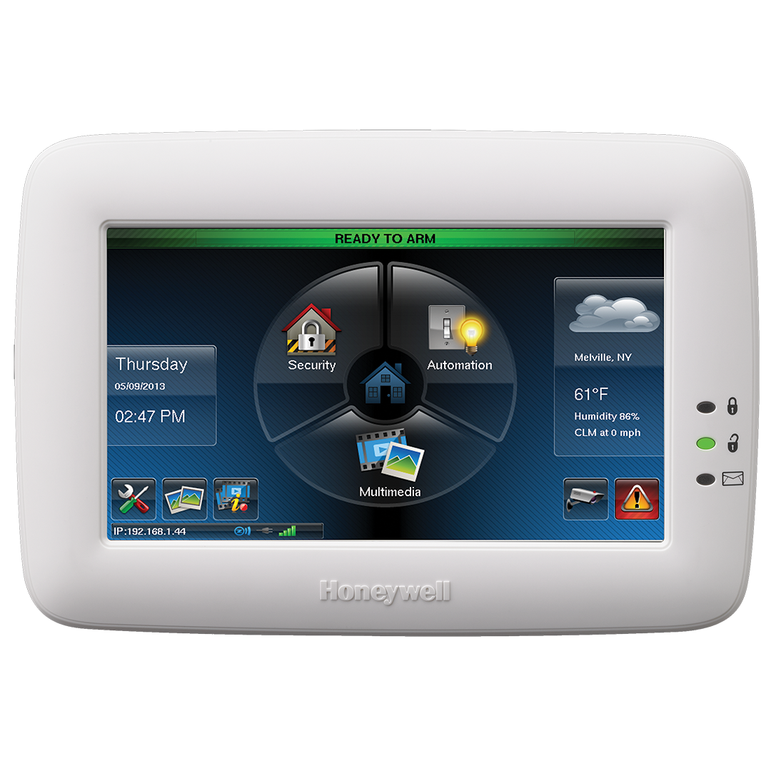 "Alternate 7"" TouchScreen Home Security"