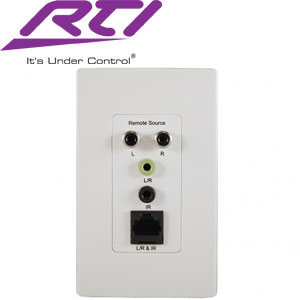 Remote Source Wallplate For Ad4 Rti Wave Electronics