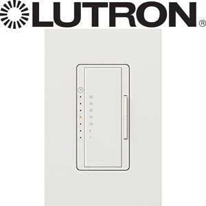 White Dimmer Timer Control Wave Electronics