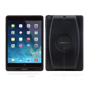 LaunchPort Sleeve IPad Mini Black Wave Electronics
