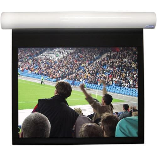 """110"""" Motorized Projection Screen Wave Electronics"""