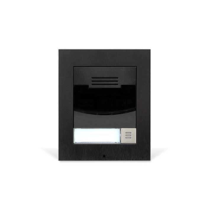 Black Flush Mount Door Station Wave Electronics