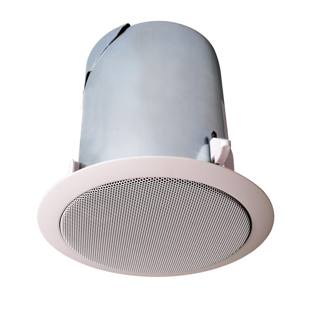 Alternate Small HiFi 70V Ceiling Speaker