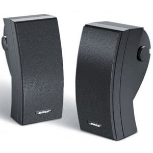 Outdoor Environmental Black Speaker Wave Electronics