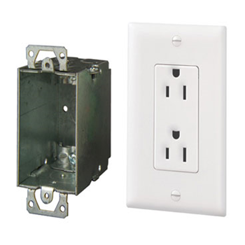 Surge Protected Duplex Power Kit Wave Electronics